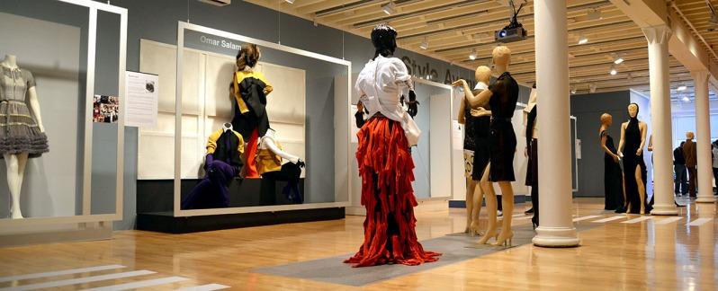 Black Dress Exhibition at Pratt Manhattan Gallery, Image Credit: © Claudia Castro/Citrico, Inc.