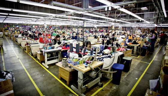 Clothing-manufacturing