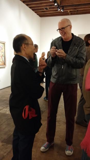Artists, Erik ReeL and Dug Uyesaka