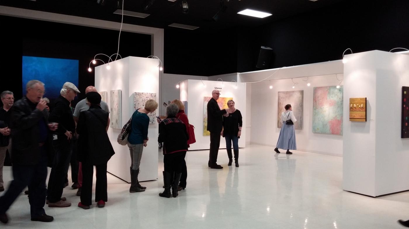 Studio Chanel Islands | Blackboard Gallery | Silence Erik ReeL Paintings