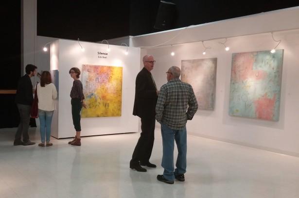 Studio Channel Islands | Blackboard Gallery | Silence Erik ReeL Paintings