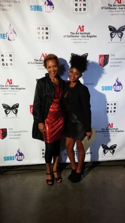 Rhonda P. Hill and Daisy Fofie 2014 | Art Institute of California, ©Rhonda P. Hill