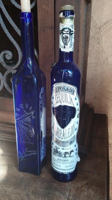Vintage Tequila Bottles - ©EDGExpo.com