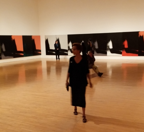 MOCA Andy Warhol Shadows photos © Rhonda P. Hill