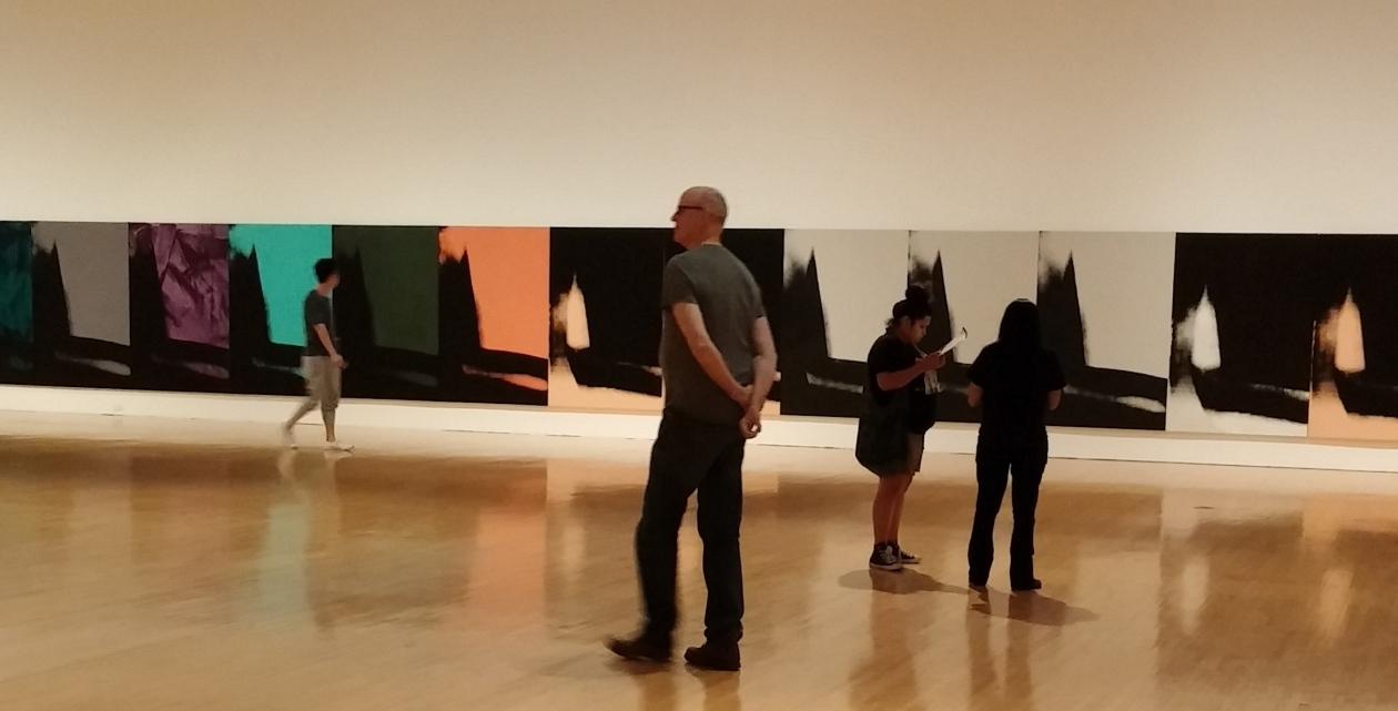 MOCA Andy Warhol Shadows photos by Rhonda P. Hill (2), edited