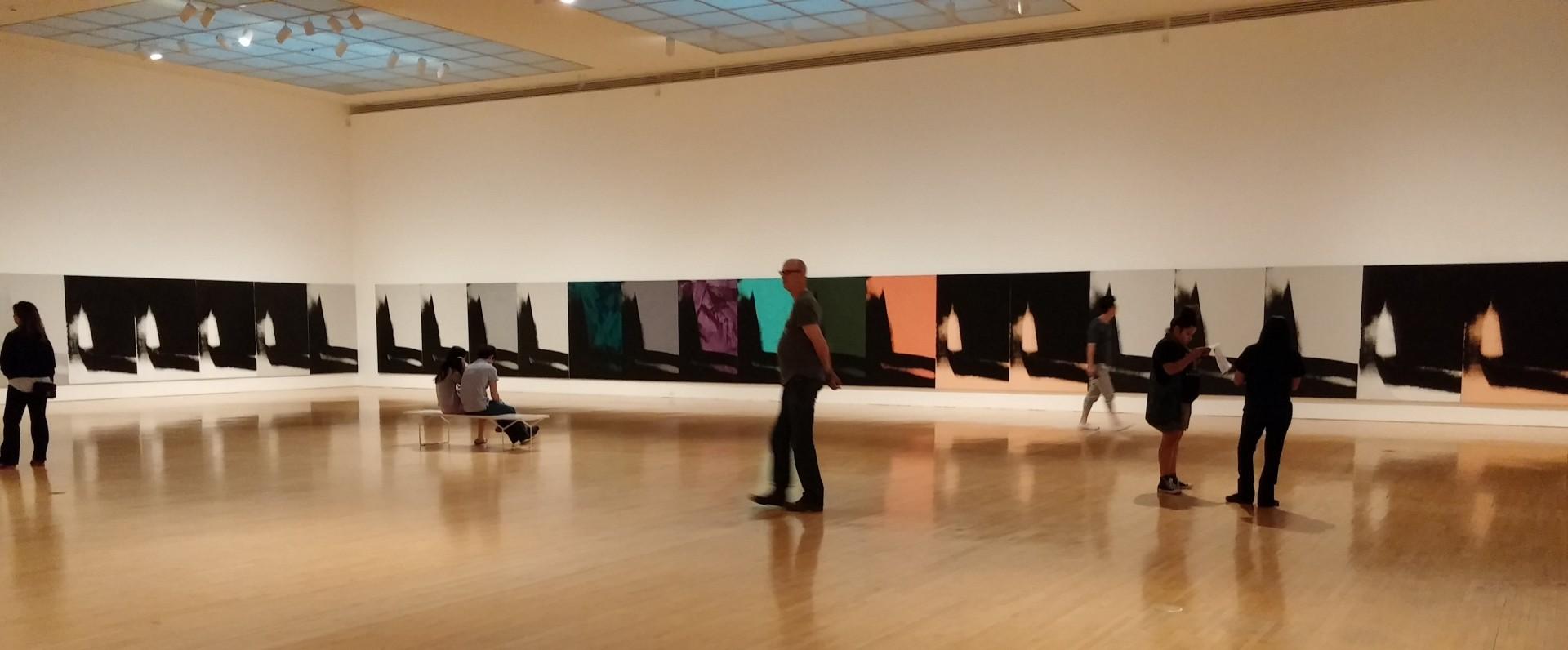 MOCA Andy Warhol Shadows photos © Rhonda P. Hill (3)