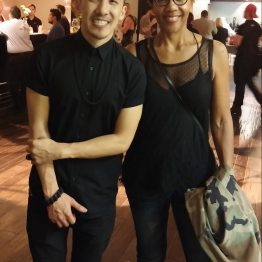 Michael Ngo with Rhonda