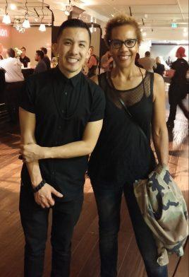 Michael Ngo Debut LA Fashion Week with Rhonda P. Hill, March 2015, ©Rhonda P. Hill