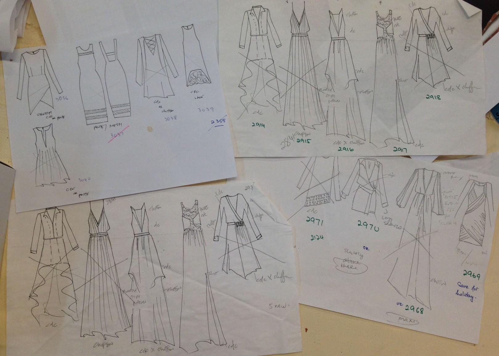 Designer Sketches, photo: Melissa Lugo, EDGExpo.com