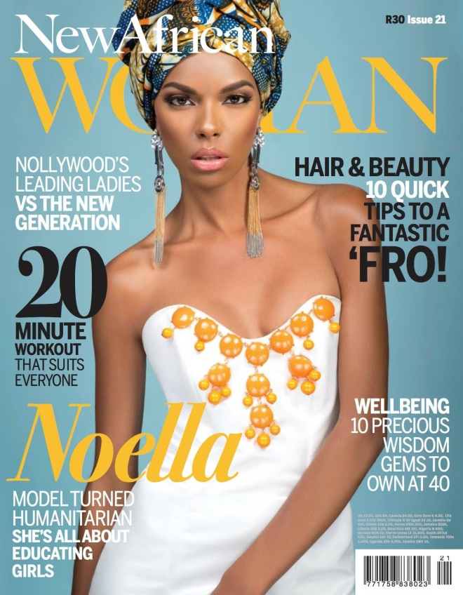 new african woman cover courtesy of Tina Lobondi