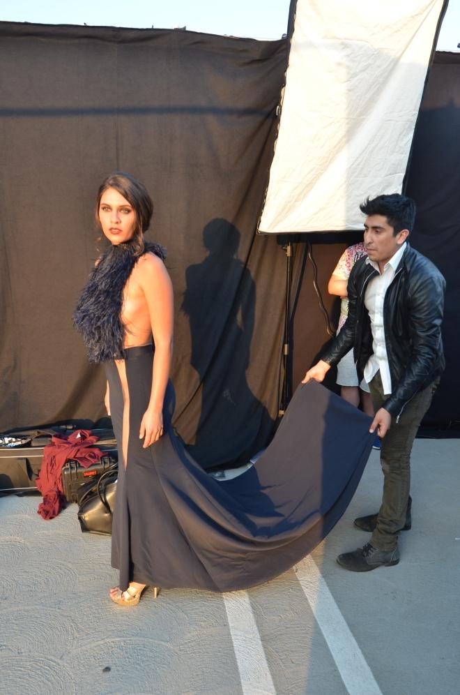Pre-Runway, Ai Does Hollywood Fashion Event, Uziel Castastaneda, DSC_7329