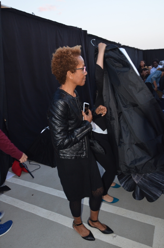 Rhonda P. Hill, Owner of EDGE, BTS Ai Does Hollywood Fashion Event, DSC_7514