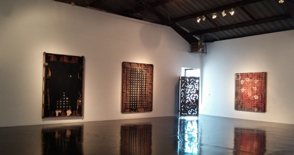 Ed Moses   Now and Then Exhibition   William Turner Gallery