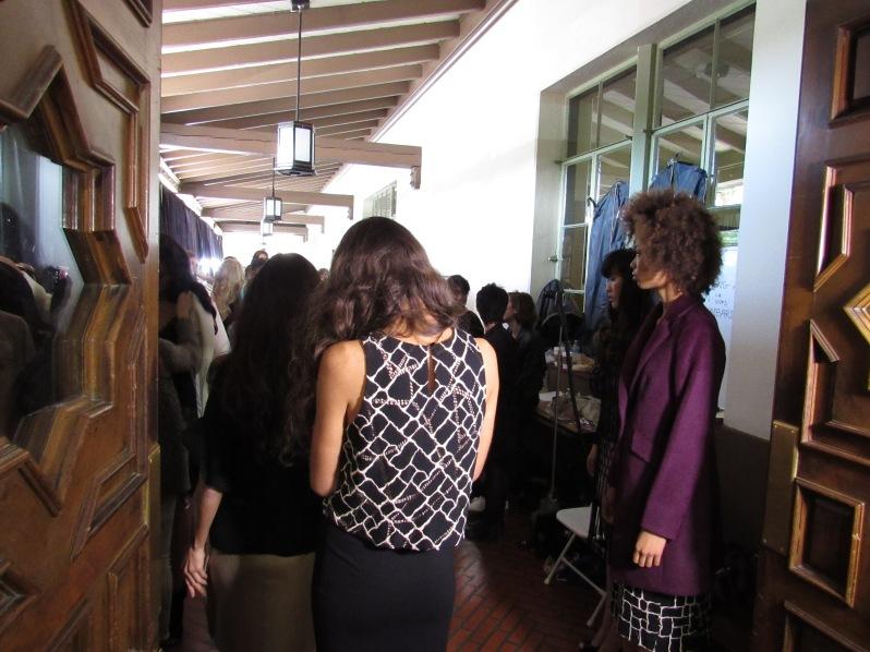 Models dressed in Minan Wong b-t-s