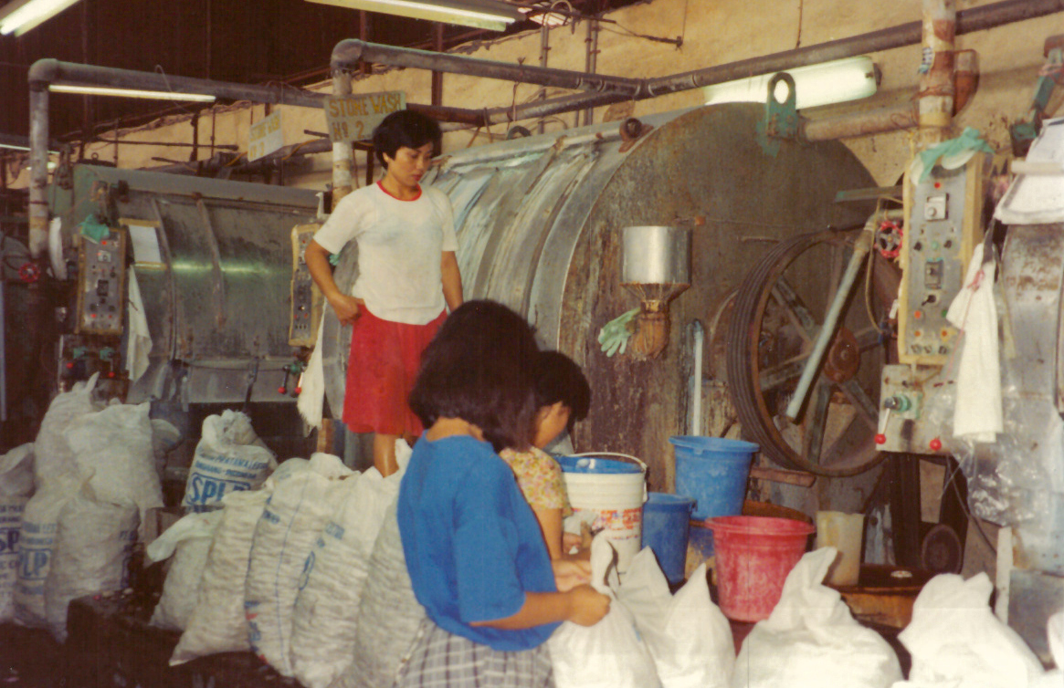 1992 - Hong Kong Factory, Denim Laundry, ©Rhonda P. HillEDGExpo (5)