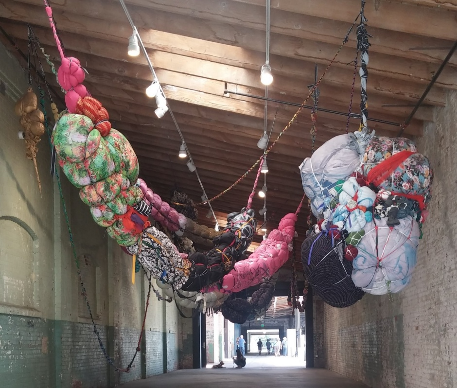 EDGExpo.com, Shinique Smith, artist - New York | Forgiving Strands