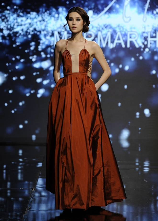 Marmar Halim, Photo by Arun Nevader/Getty Images for Art Hearts Fashion