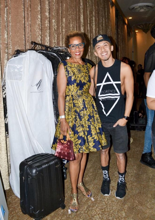 Rhonda P. Hill, Michael Ngo, designer | Art Hearts Fashion | Photo Cindy Ceballos