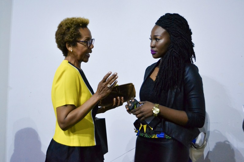 "'the talk"", elevating African cloth, Rhonda with Maryanne E. Mokoko of Koko Nanga 