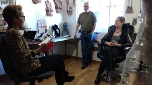 Rhonda talks to Keith and Elaine