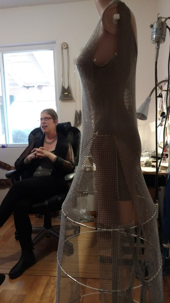 Elaine Unzicker | Armored Dream, Dress