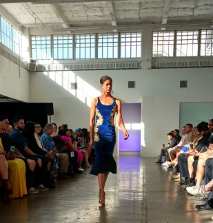 Nancy K. De La Cruz, designer, Ai Fashion Show, ©EDGExpo.com