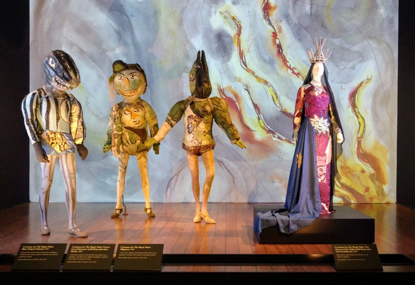 LACMA Chagall: Fantasies for the Stage | The Magic Flute, photo EDGExpo.com