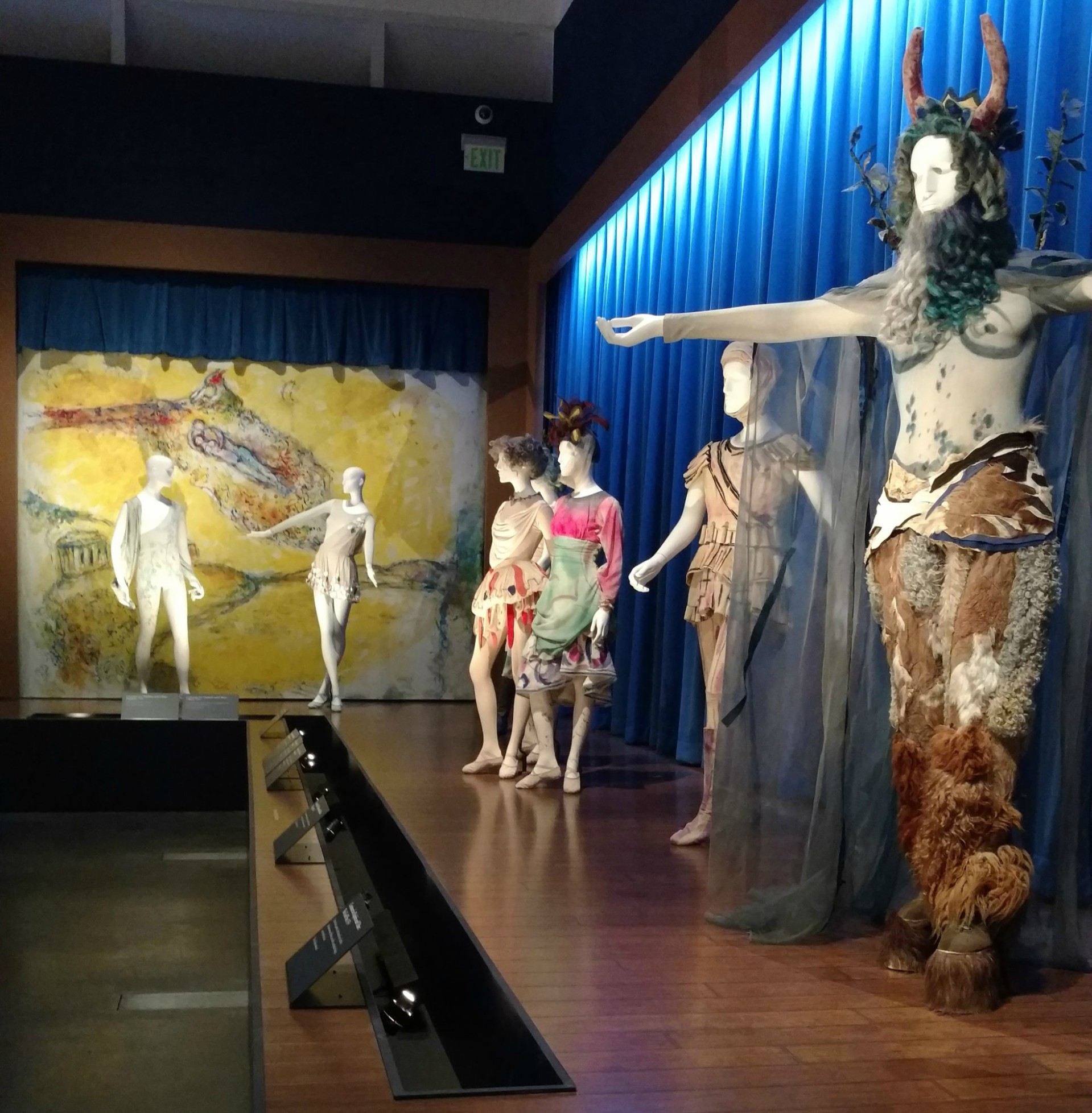 LACMA Chagall: Fantasies for the Stage | Daphnis and Chloe, photo: EDGExpo.com