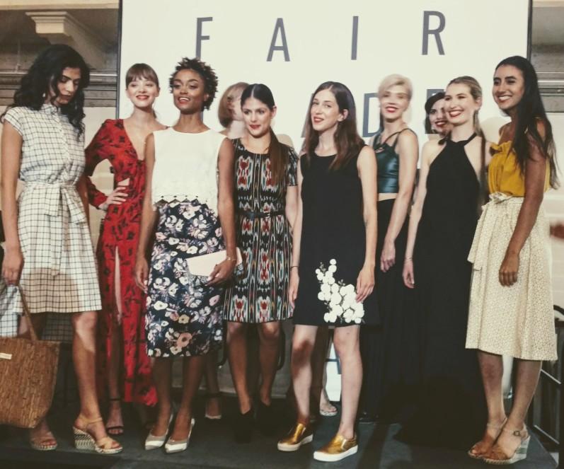 Fair Trade Fashion Post Show with models, EDGExpo.com