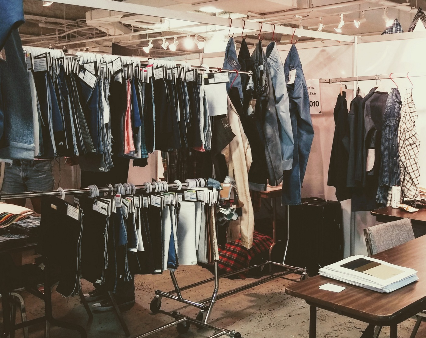 LA International Textile Show | Showroom booth: Japanese Denim Supplier, EDGExpo.com