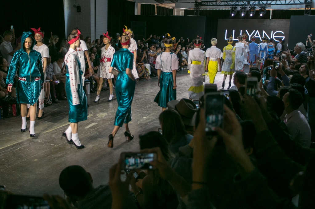 Lu Yang by Yang Lu | Nolcha Shows NY Fashion Week