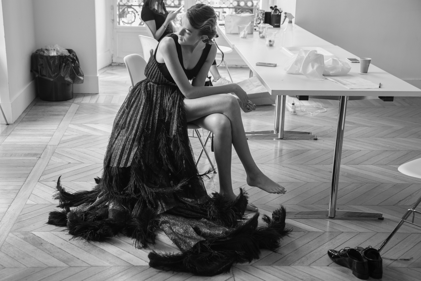 Designer-Hera Zhou, Photographer-Yann Bohac, Model-Maëlys Rollinde - Maxence Orard, 1_2