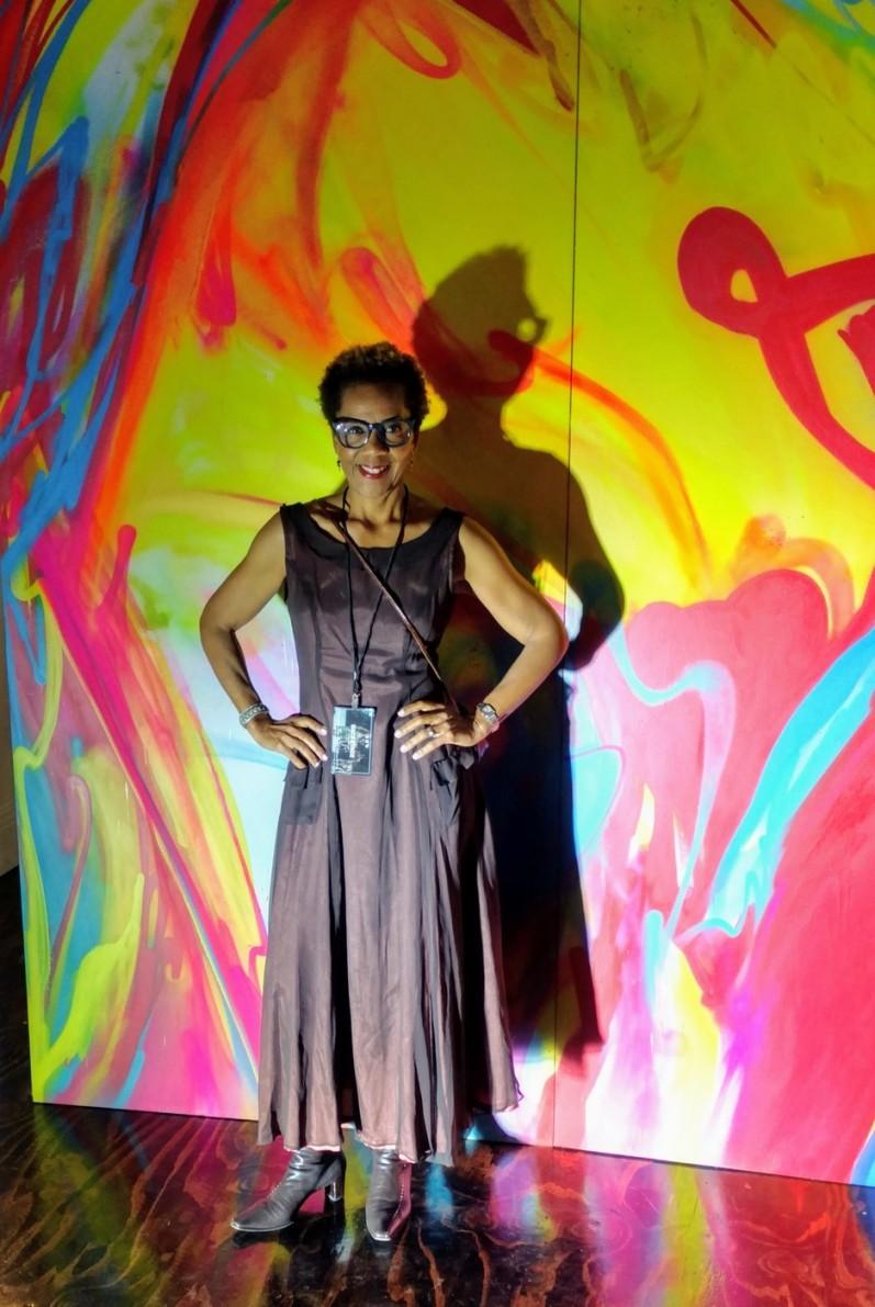 Rhonda P. Hill, VIP Guest of Bishme R. Cromartie, Bč, LA Fashion Week, EDGExpo.com