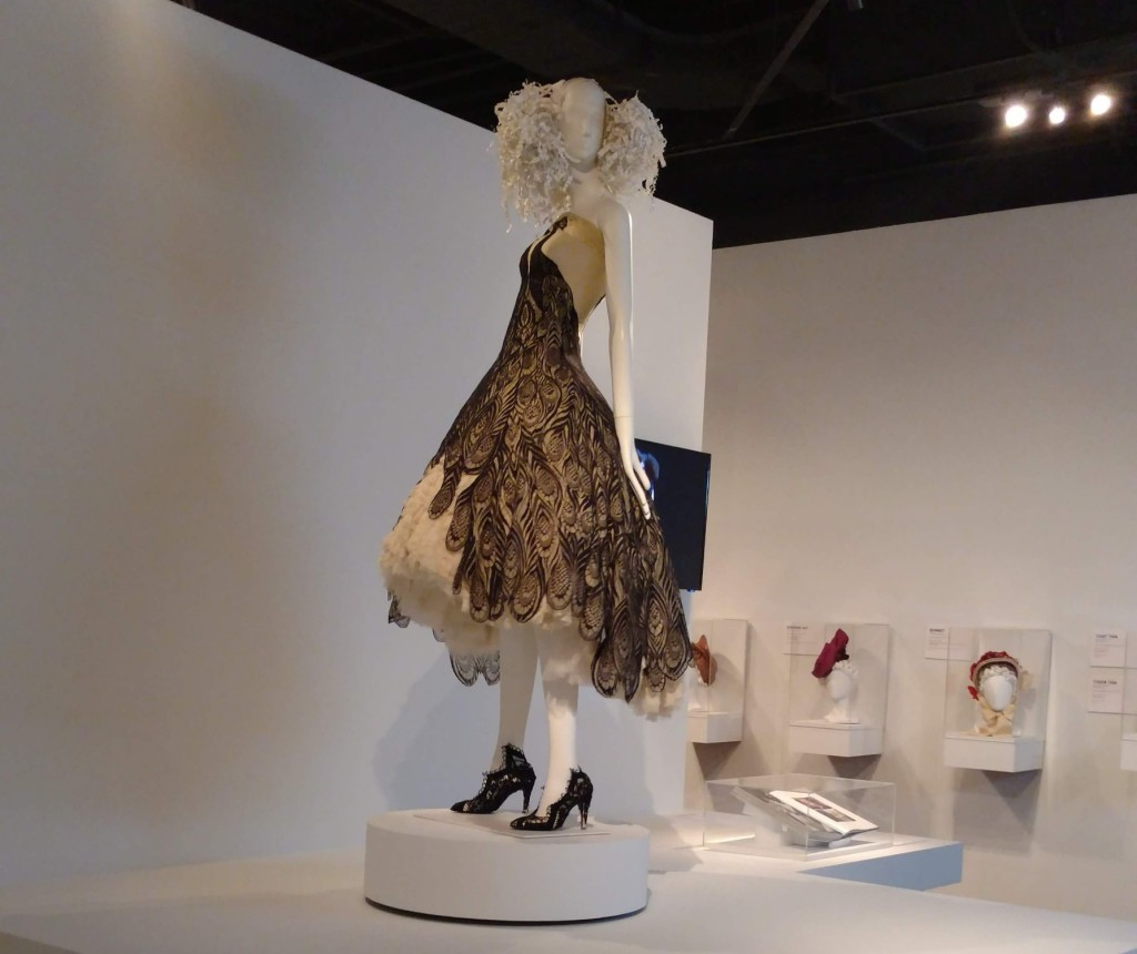 Alexander McQueen, FIDM Museum, The Girl Who Lived in the Tree collection, 2008-2009, photo Rhonda P. Hill