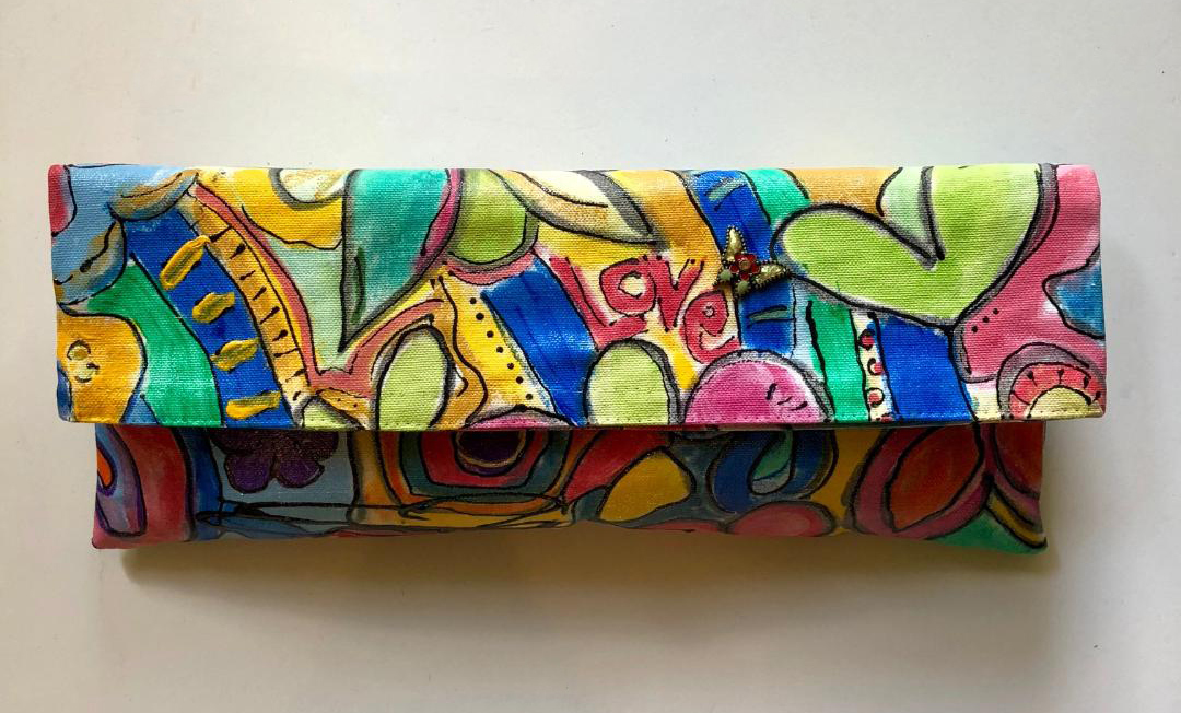 Susan Tancer Studios_Love and Ladybug Graffiti