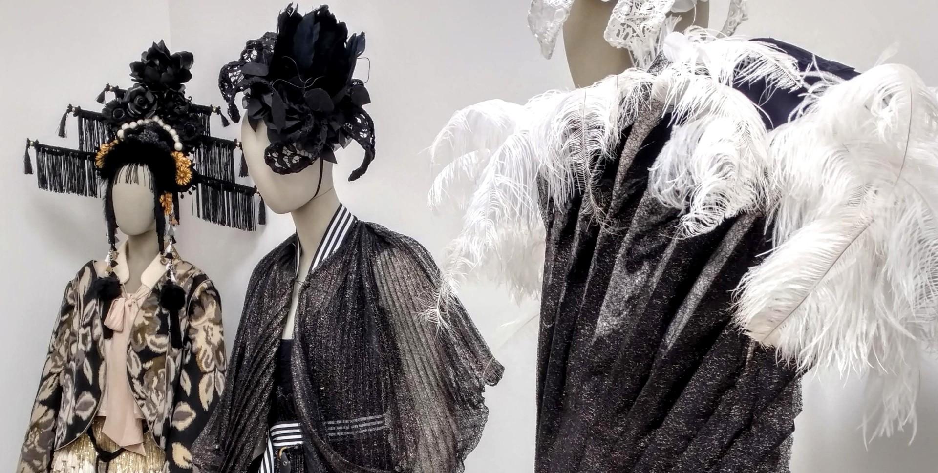 Blurred Boundaries Fashion as an Art, [far left] Alena Kalana and Hera Zhou, designers, ©EDGExpo.com