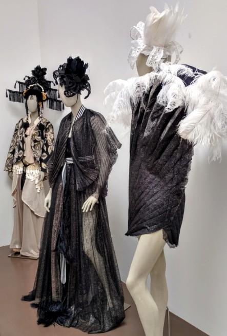 Blurred Boundaries Fashion as an Art, far left, Alena Kalana and Hera Zhou, designers, ©EDGExpo.com