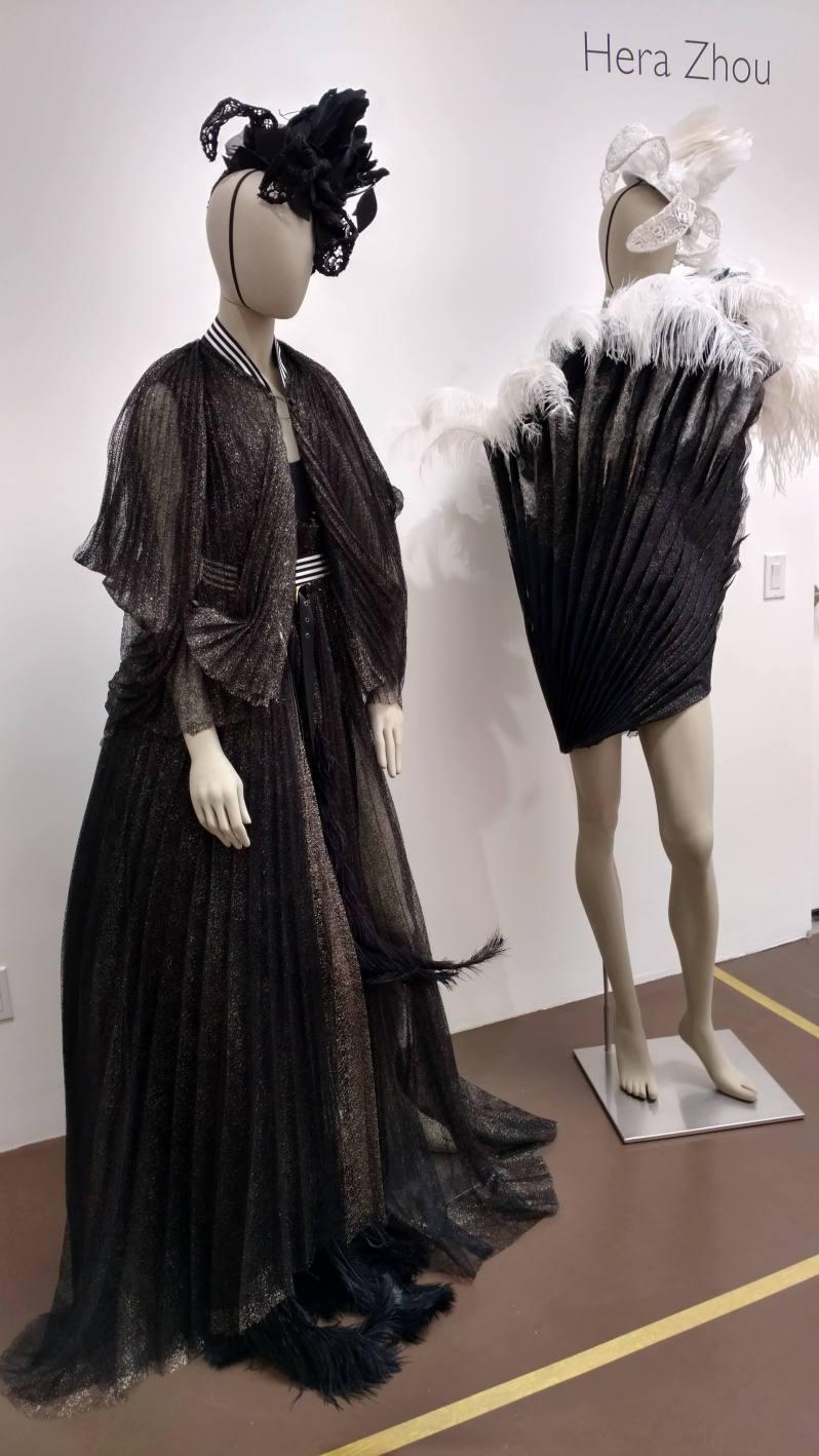 Blurred Boundaries Fashion as an Art, Hera Zhou, designer, ©EDGExpo.com