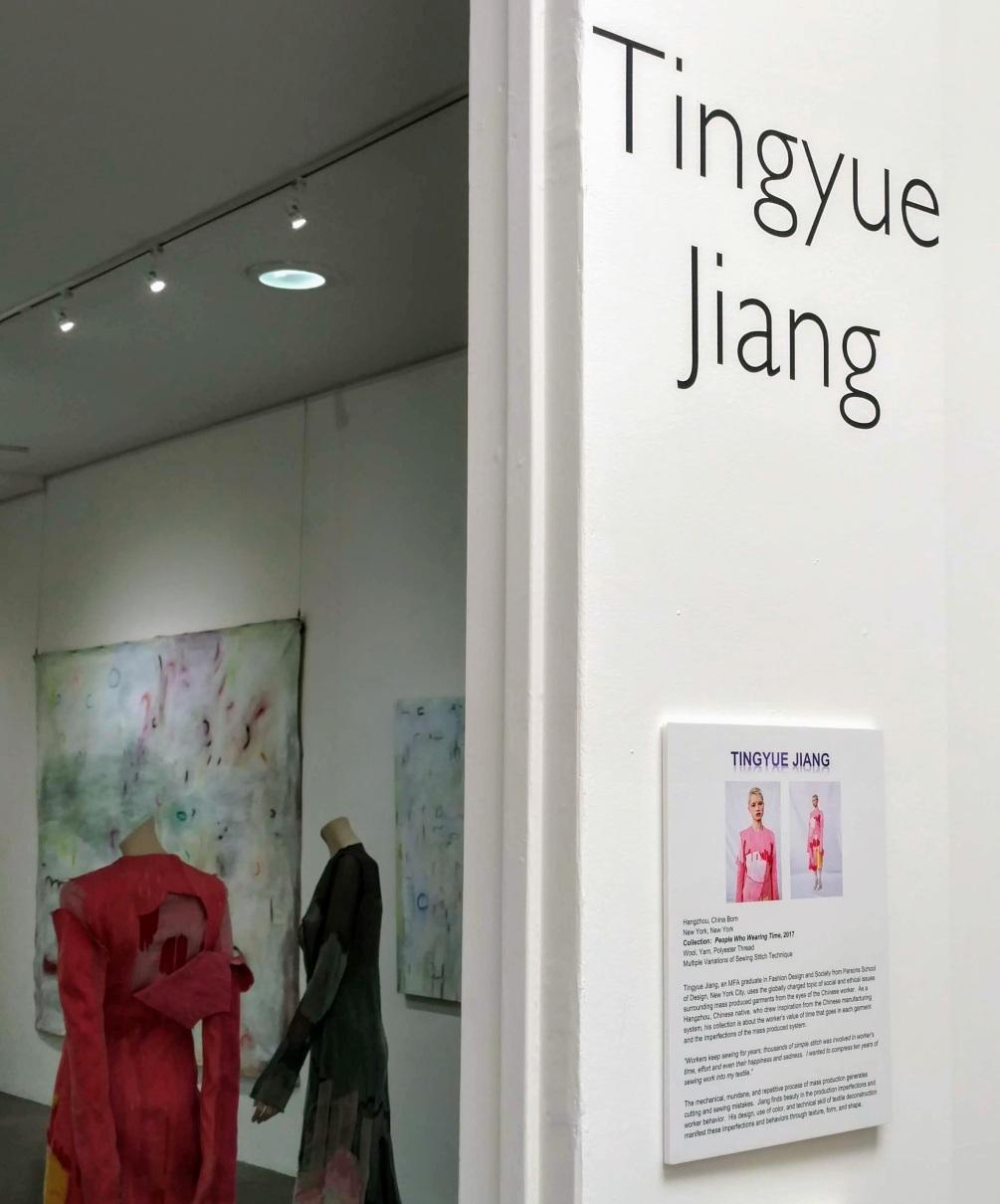Blurred Boundaries Fashion as an Art, Tingyue Jiang, designer, ©EDGExpo.com