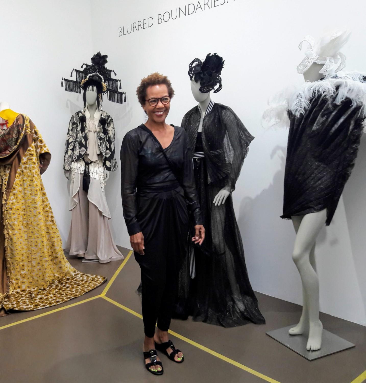 Blurred Boundaries Fashion as an Art exhibit, GraySpace Gallery, Santa Barbara, ©Rhonda P. Hill