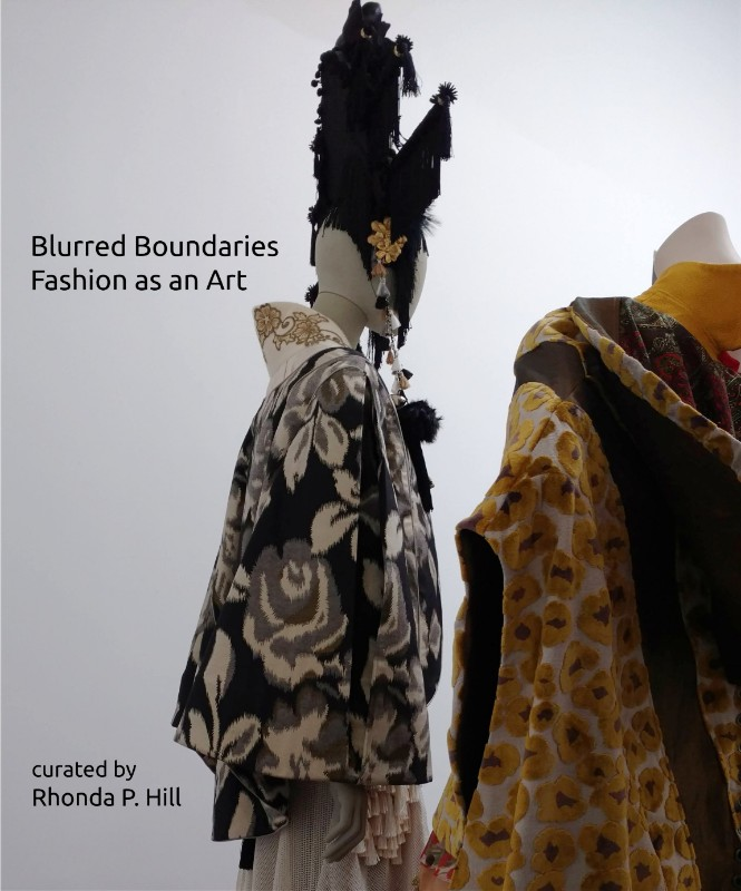 Blurred Boundaries: Fashion as an Art, curated by Rhonda P.Hill | GraySpace gallery, Funk Zone, Santa Barbara.
