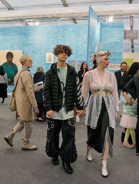 Frieze Frame: Fashion at Frieze Los Angeles, photo by Rhonda P. Hill for EDGExpo.com