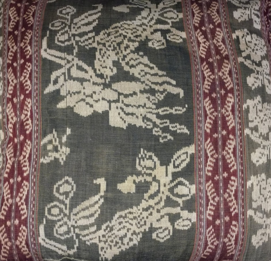 From the art collection of Rhonda p. Hill | 1990, Jakarta Indonesia, Ikat textile