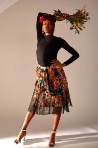 Skirt : JUNNA (@junnakamura_) Model : Raihanna Thompson (@_raihanna) Makeup : Azzurra Bonaldo (@azzurra_bonaldo @maccosmetics) Direction : Riccardo Rubino (@rick_inky_style) Designer : Jun Nakamura (@junnakamura_)