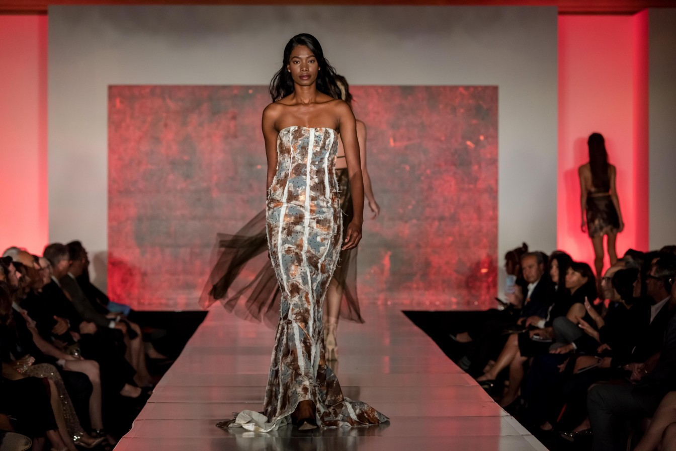 Woodbury University Fashion Show, designer Lauren Dergentis, photo Wayne D. Fleshman, EDGExpo.com, 2019