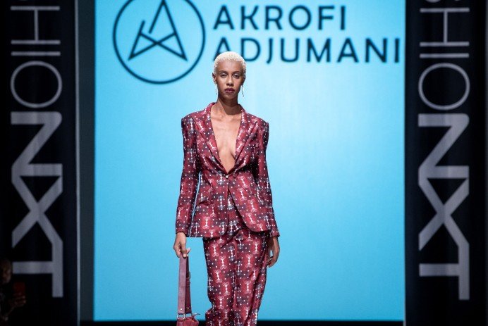 FashioNxt Week, Akrofi Adjumani | photo courtesy of FashioNxt Week