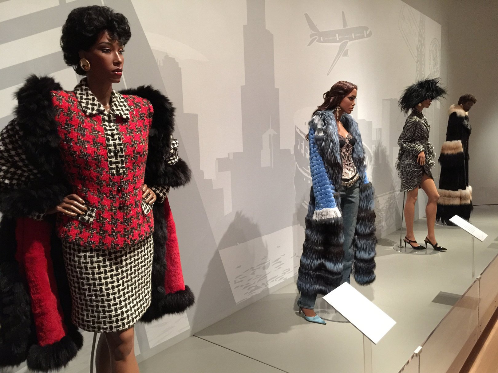 Inspiring Beauty: Fifty Years of Ebony Fashion Fair exhibit developed by the Chicago History Museum in cooperation with Johnson Publishing Company, LLC, presented by the Costume Council of the Chicago History Museum, and toured by International Arts & Artists, Washington, D.C.