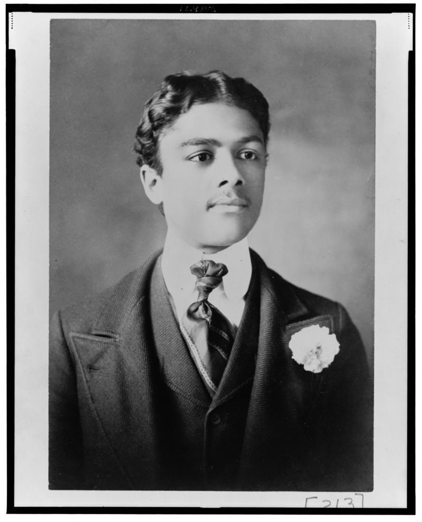 African American man, head-and-shoulders portrait, facing slightly right