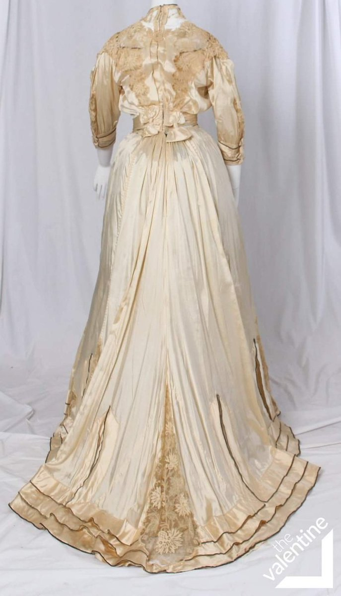 Afternoon Dress Designed & Created by Black Dressmaker Fannie Criss Payne, circa 1905 | The Valentine Museum - Richmond, VA