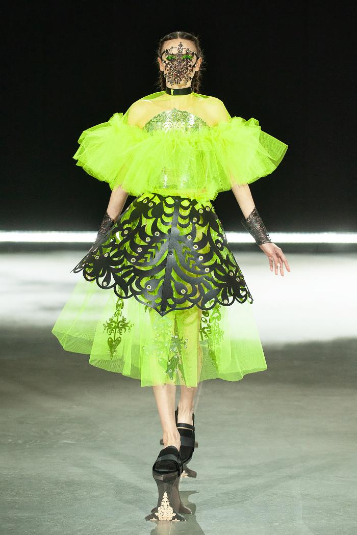 """Oyma"" by Polina Veller, designer | Ukrainian Fashion Week No Season 2021, photo: courtesy of Ukrainian Fashion Week"